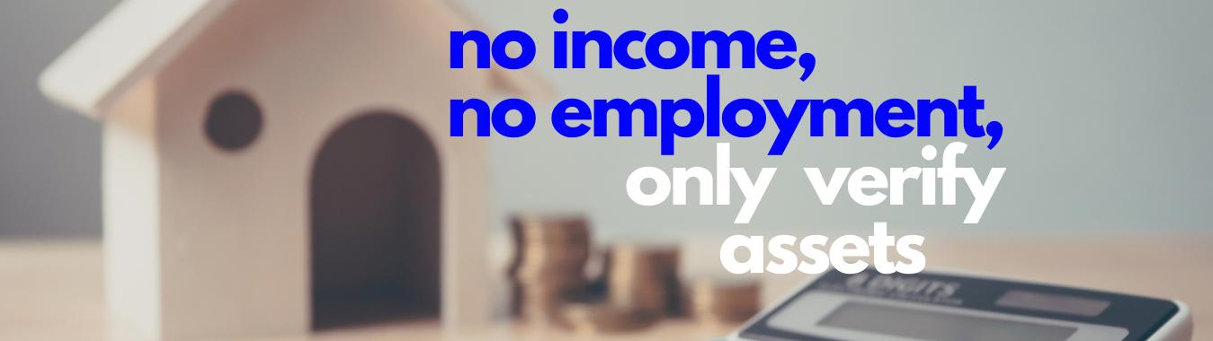 No Income & No Employment & No Ratios Unlimited Mortgage Lending