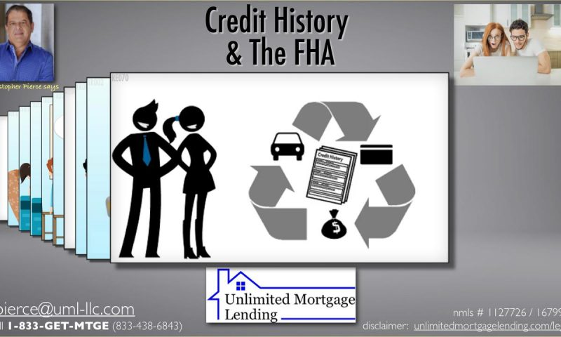 Credit History and The FHA