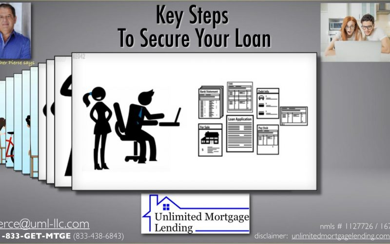 Key Steps To Secure Your Loan