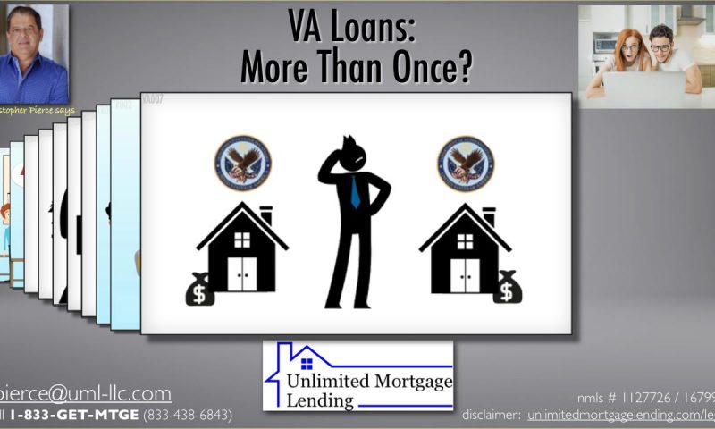 VA Loans - More Than Once_