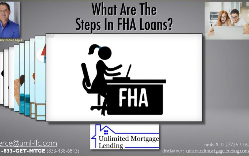What Are The Steps In FHA Loans_