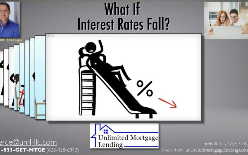 Interest Rates Fall