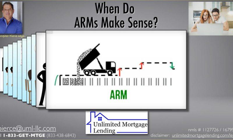 When Do ARMs Make Sense_
